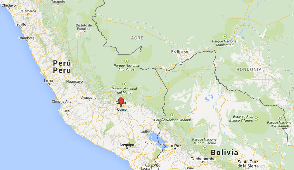 map-volunteering-cusco-peru